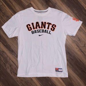 San Francisco Giants Baseball Nike Shirt